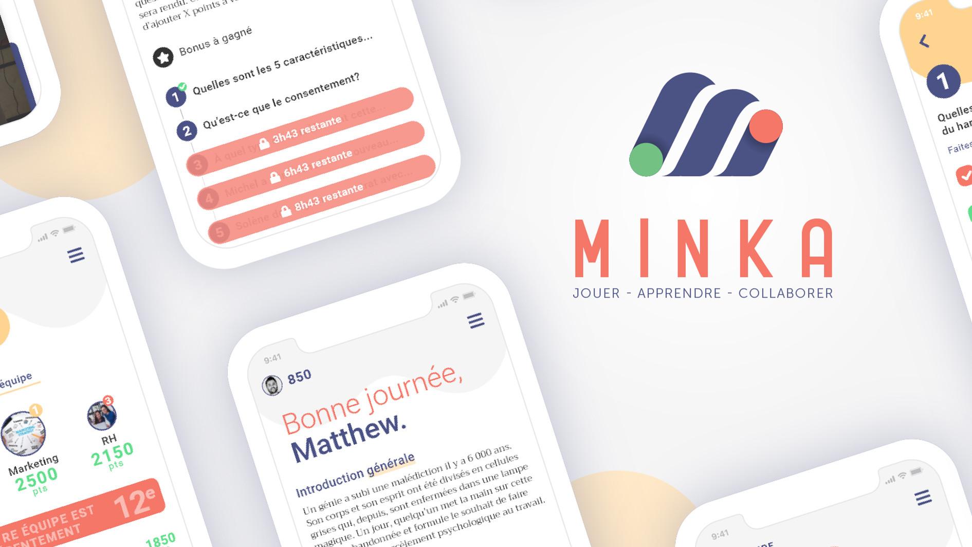 Minka, plateforme de jeu sérieux