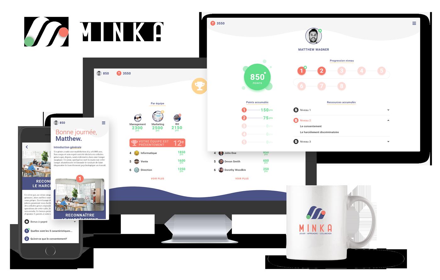 Minka - Plateforme de jeu sérieux